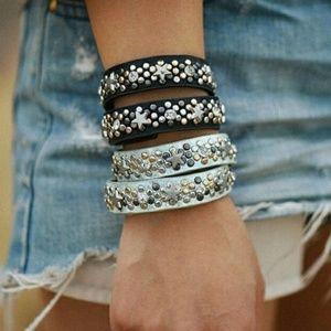 Artisan Studded Wrap Bracelet